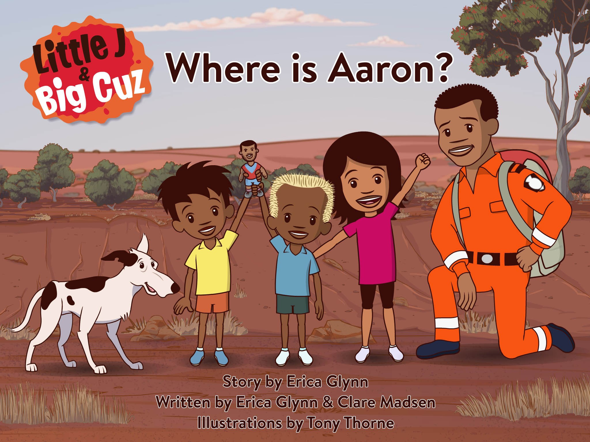 Book cover of Where is Aaron
